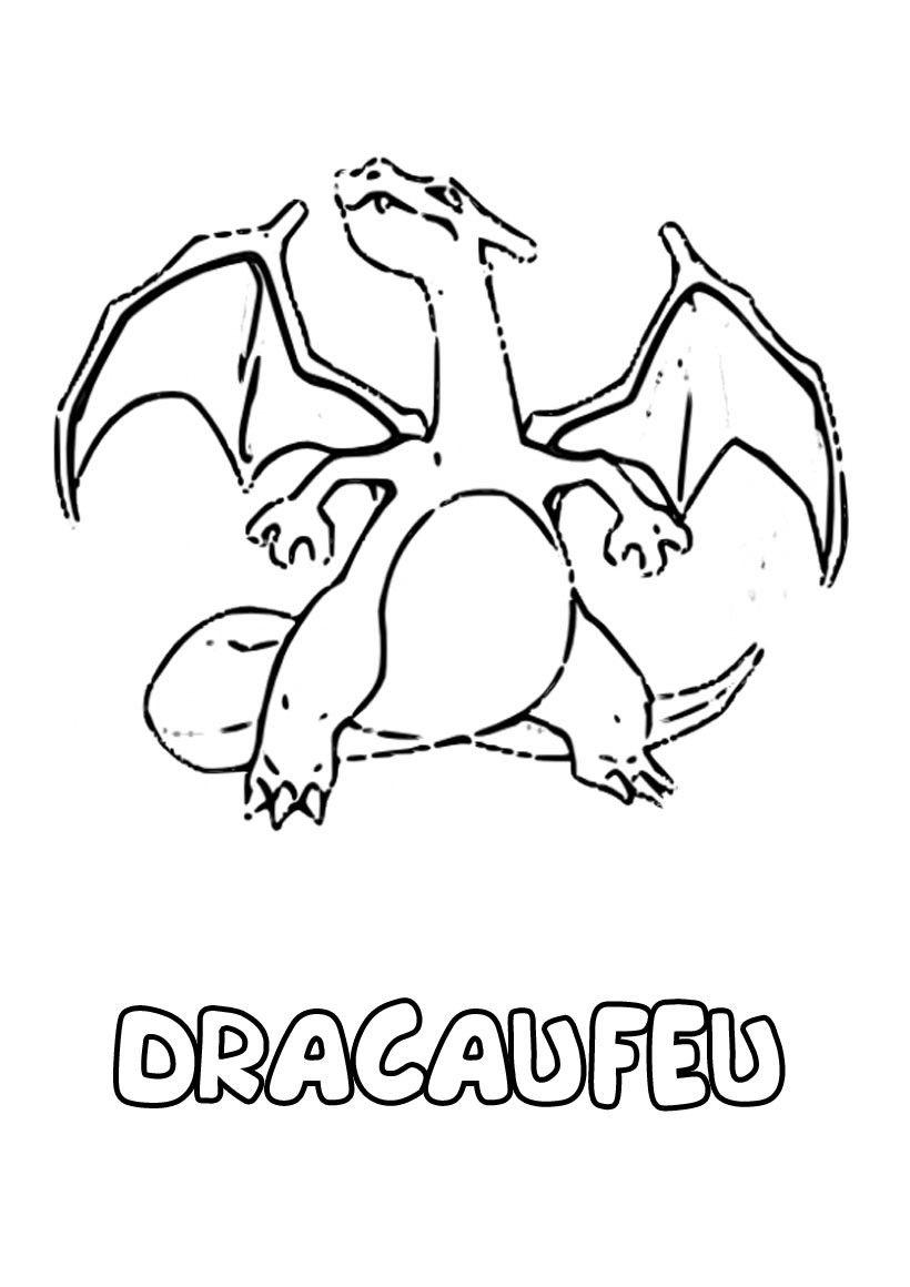 Coloriage Pokemon  colorier Dessin  imprimer Projets  essayer Pinterest