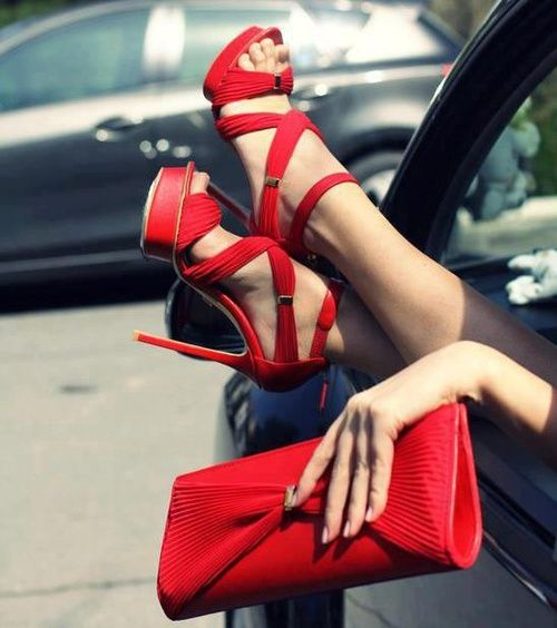 red high heels fashion shoes heels image 4 http://www.womans-heaven.com/red-heels-10/