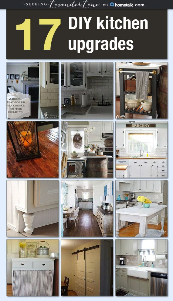 17 DIY Kitchen Upgrades Idea Box by Deb Foglia | Kitchen Ideas ...
