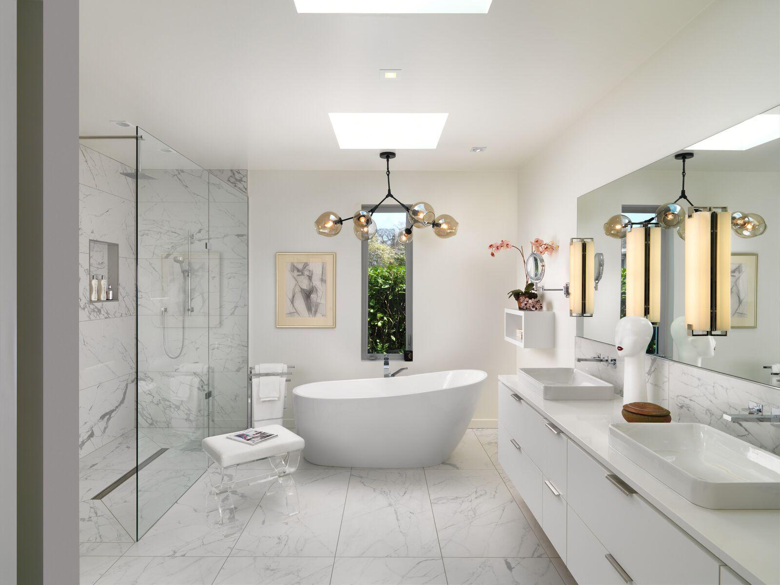 Home south shore custom bathroom