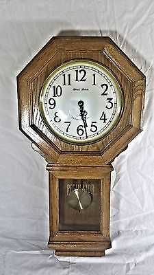 Details About Vintage Daniel Dakota Regulator Wall Clock