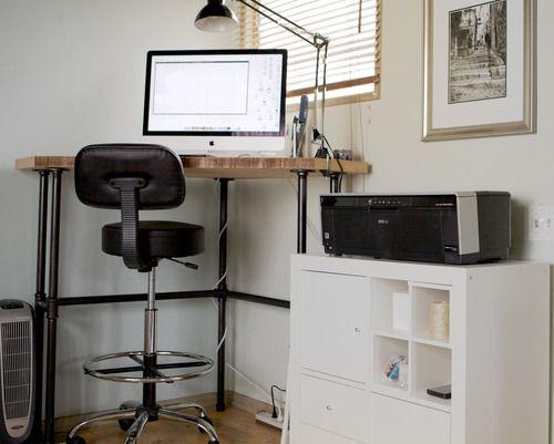 Standing or Sitting Desk desk standing H Interior Board 2