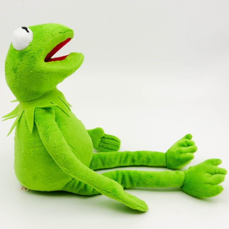 da5a453fa4 40cm Kermit Plush Toys Sesame Street frogs Doll Stuffed Animal Kermit Toy  Dropshipping Holiday Gifts For