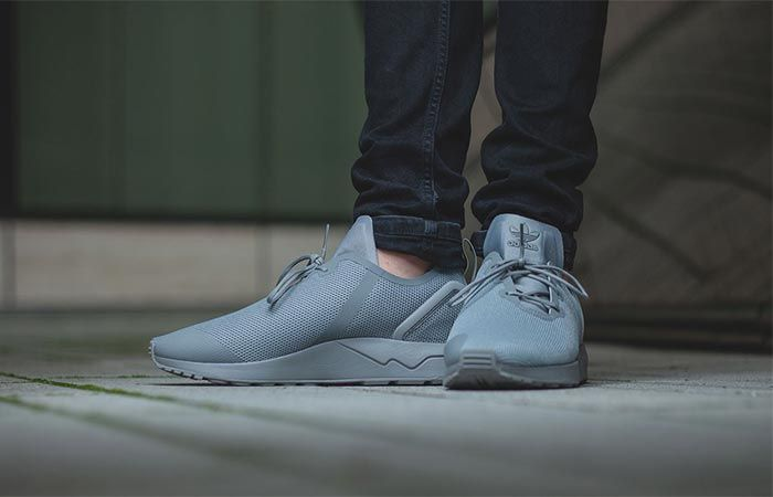 """b28be11e7 ADIDAS ZX FLUX ADV ASYM """"SOLID GREY"""" --   Adidas keeps developing running  shoes"""