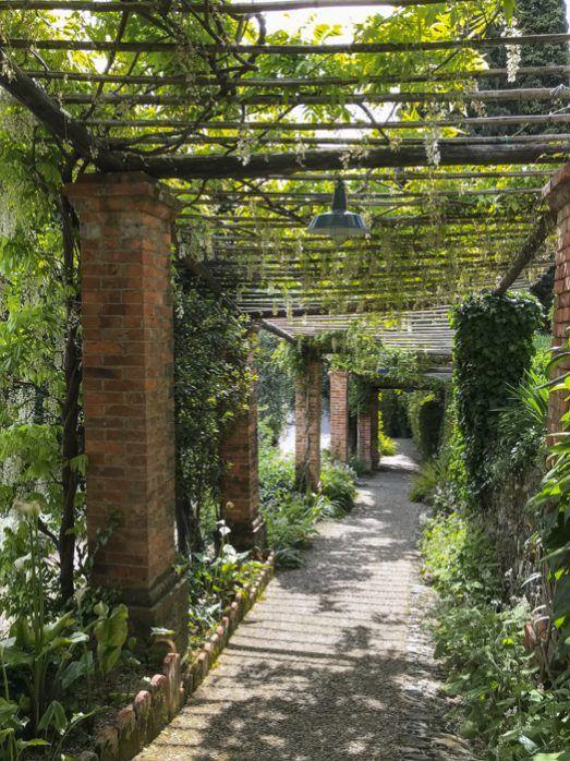 I giardini di Villa della Pergola il giardino segreto di