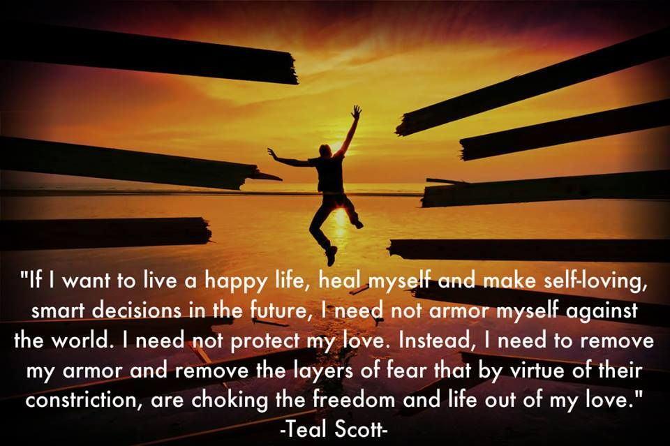 Spiritual Quotes About Love And Life Magnificent If I Want To Live A Happy Life Heal Myself And Make Selfloving
