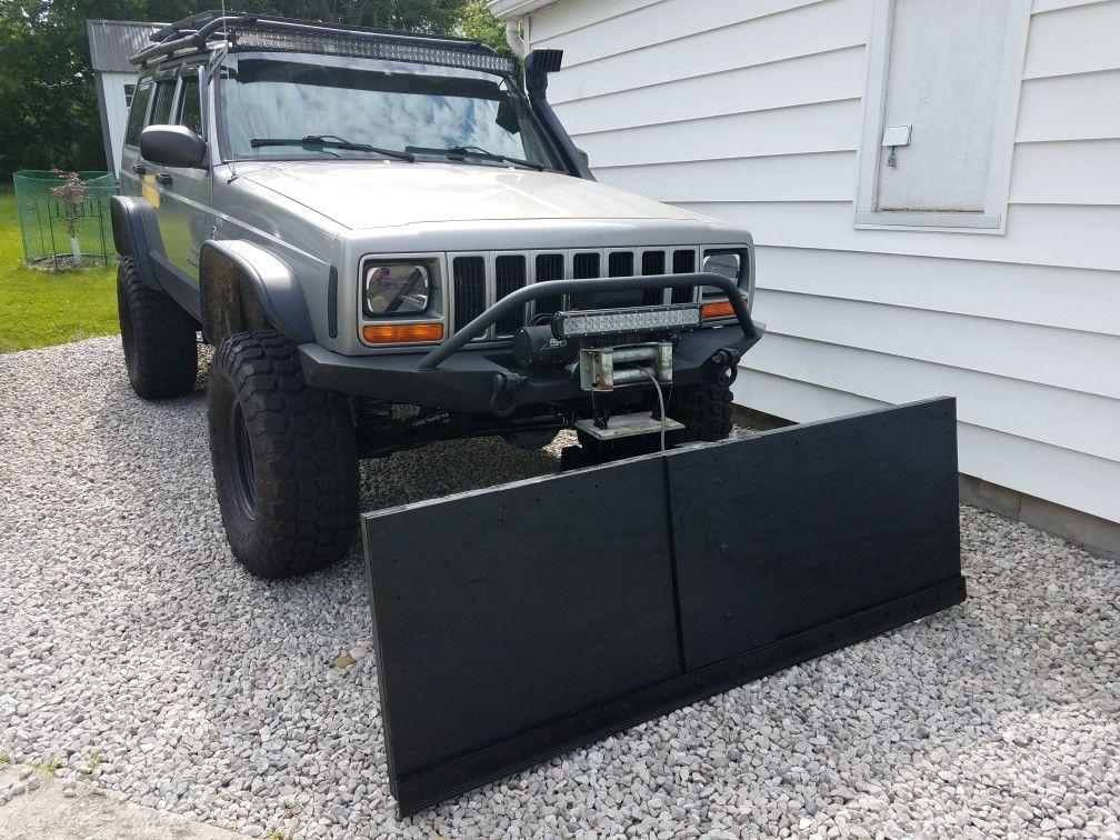 Jeep Snow Plow >> Homemade Snow Plow Jeep Xj Snow Plow Jeep Xj Jeep