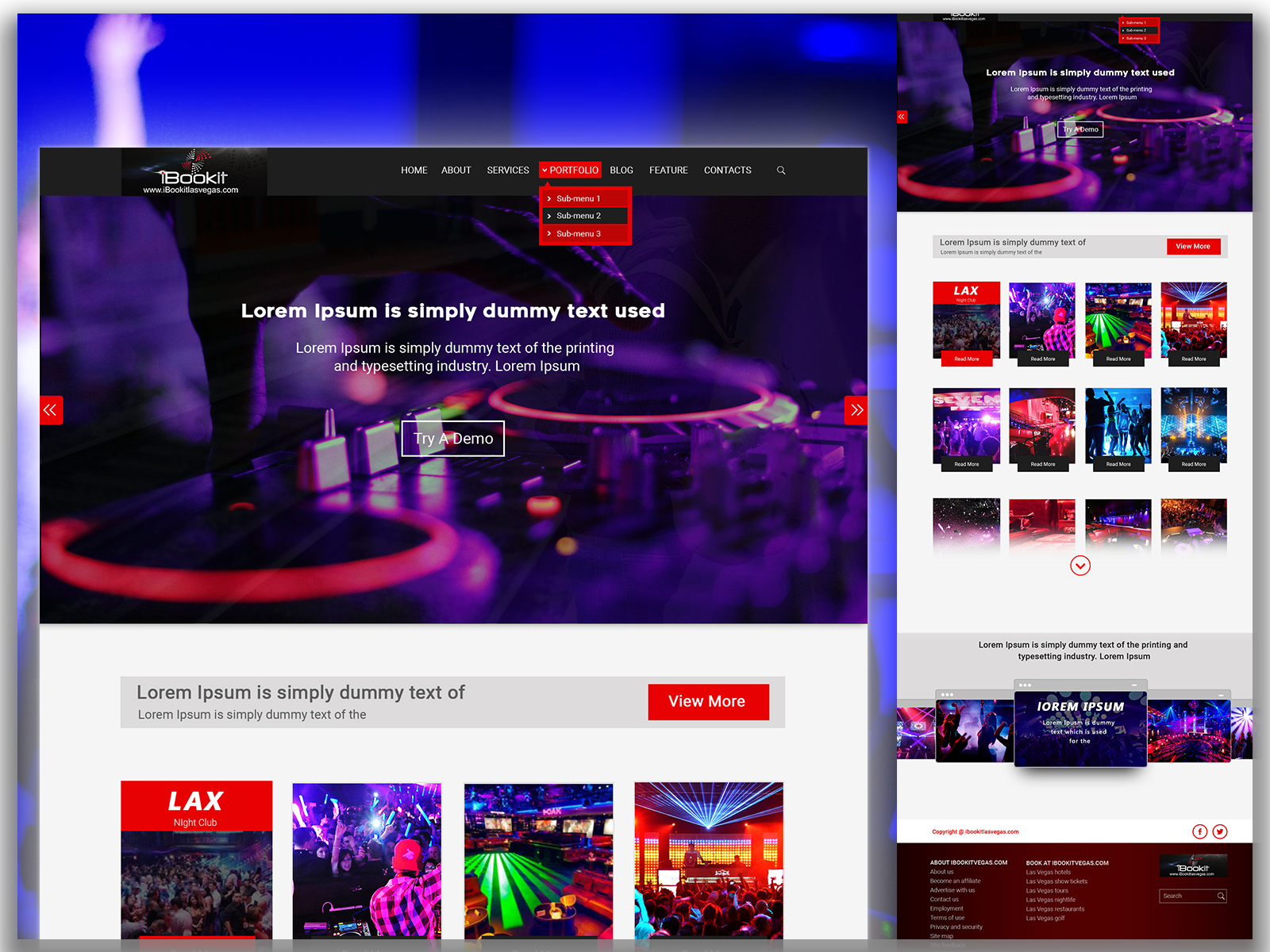Music Website Design Online Web Design Web Design Psd Templates