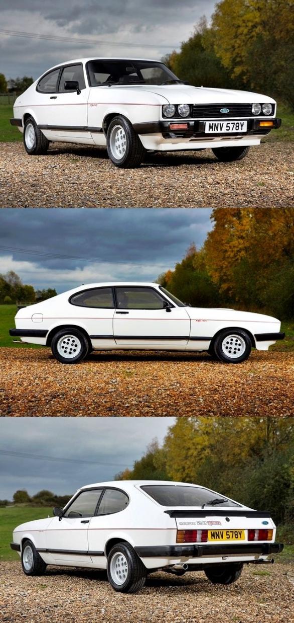 1983 Ford Capri 2.8i Coupe classiccars classic cars