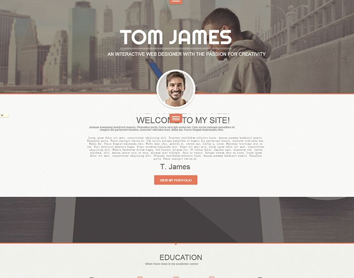 Best WordPress Resume Theme - Web Designer Help Getting Job - wordpress resume theme