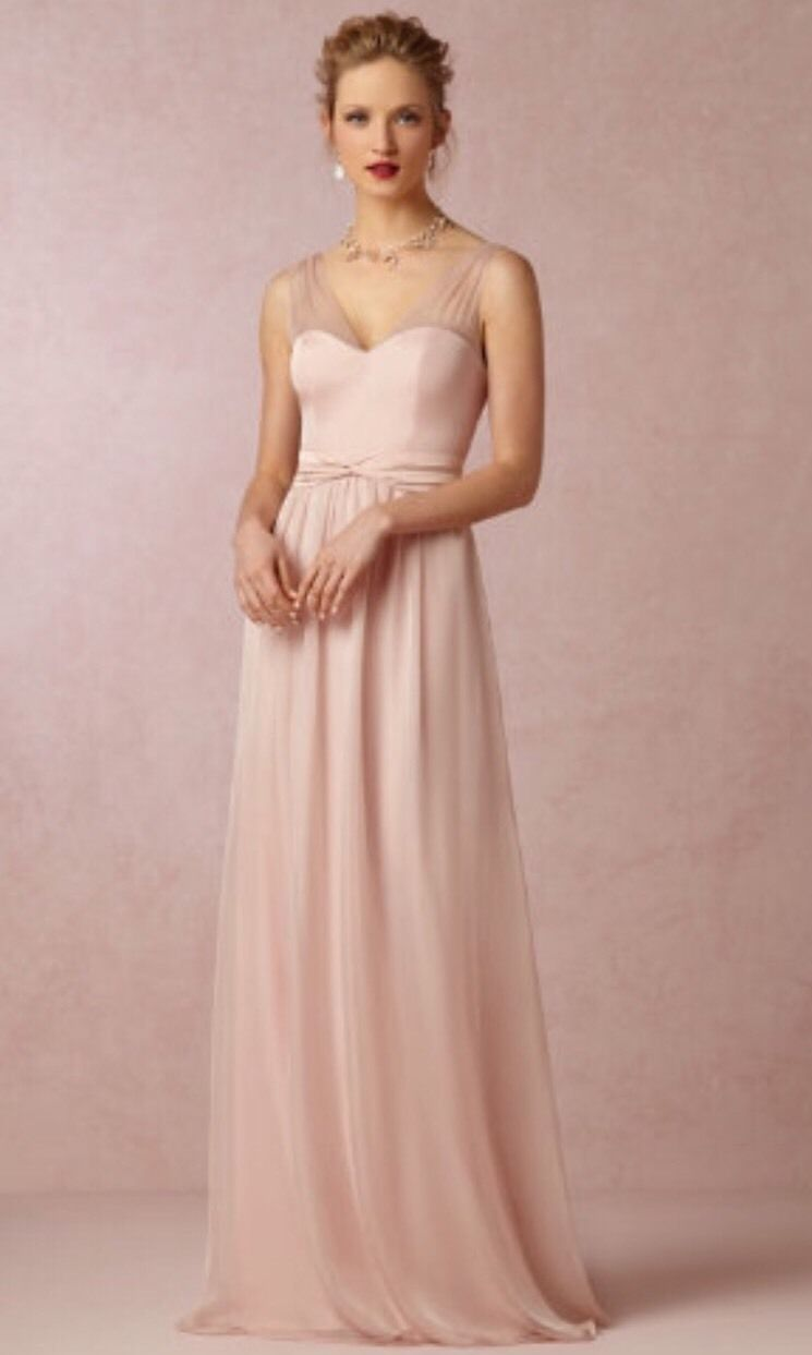 Hitherto BHLDN Josephine Anthropologie Wedding Reception Dress Long ...