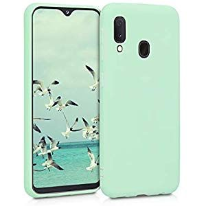 kwmobile Funda para Huawei P30 Lite Carcasa de TPU para tel/éfono m/óvil Cover Trasero en Menta Mate