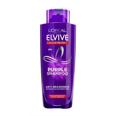 L Oreal Paris Elvive Colour Protect Anti Brassiness Purple Shampoo