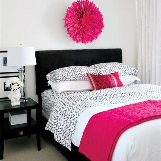 bedroom design stunning white black pink bedroom decoration color for girls2 girls bedroom - Black White Pink Bedroom Decorating Ideas