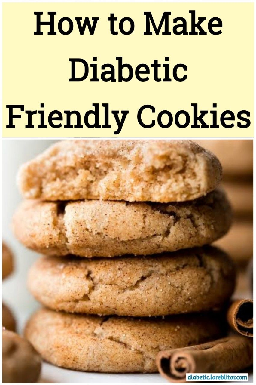 How to make diabetic friendly cookies