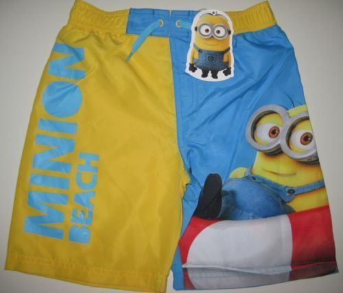 despicable me - minions - shorts - age 9-10 - BNWT - FAST DISPATCH -