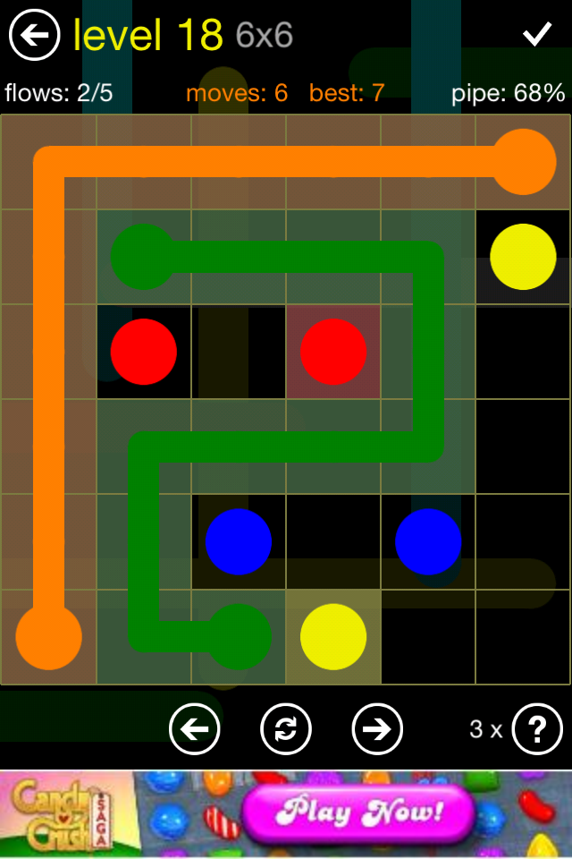 Flow Free Puzzle Game App for iPhone or iPad - News - Bubblews