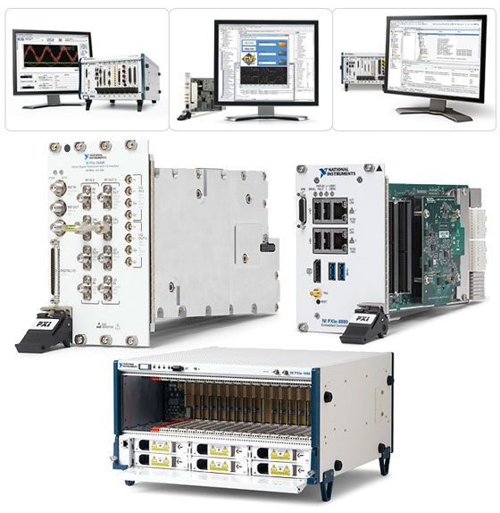 Products Specification and Overview of National Instruments PXI ...