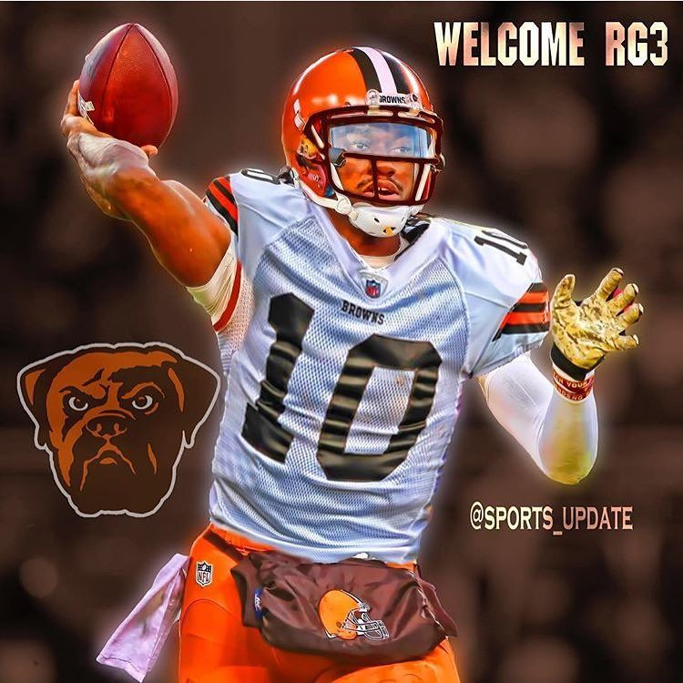 reputable site f123e 40899 Robert Griffin III has signed with the Cleveland Browns ...