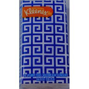 Travel size facial tissues