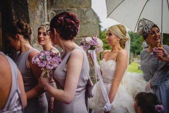 A Bonny Wedding at Eaves Hall, Lancashire