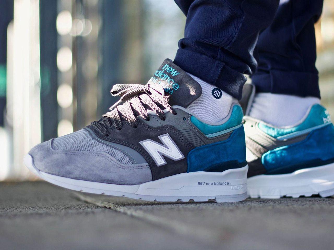 New Balance 997CA - 2017 (by Fred Adam) | Sneaker, Turnschuhe, Schuhe