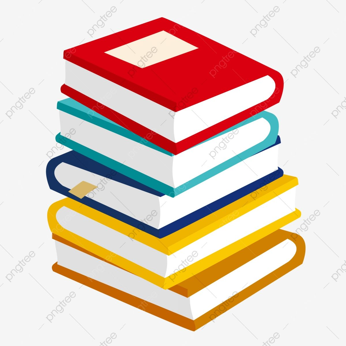 A Stack Of Colored Books Book Clipart A Large Stack Colored Books Png And Vector With Transparent Background For Free Download Coloring Books Book Icons Stack Of Books