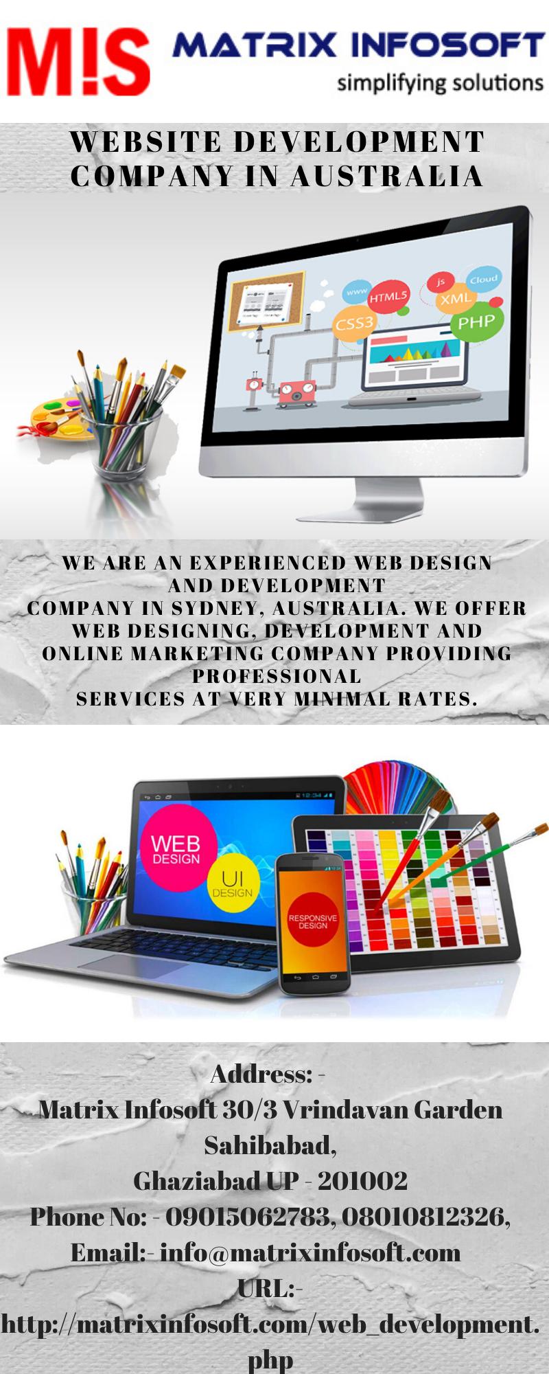 Website Development Company In Australia In 2020 Web Development Design Website Development Website Development Company