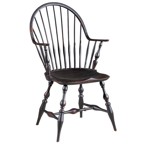 Nice D.R.DIMES Windsor Chairs Continuous Arm Chairs   RI Pennfield CA Windsor