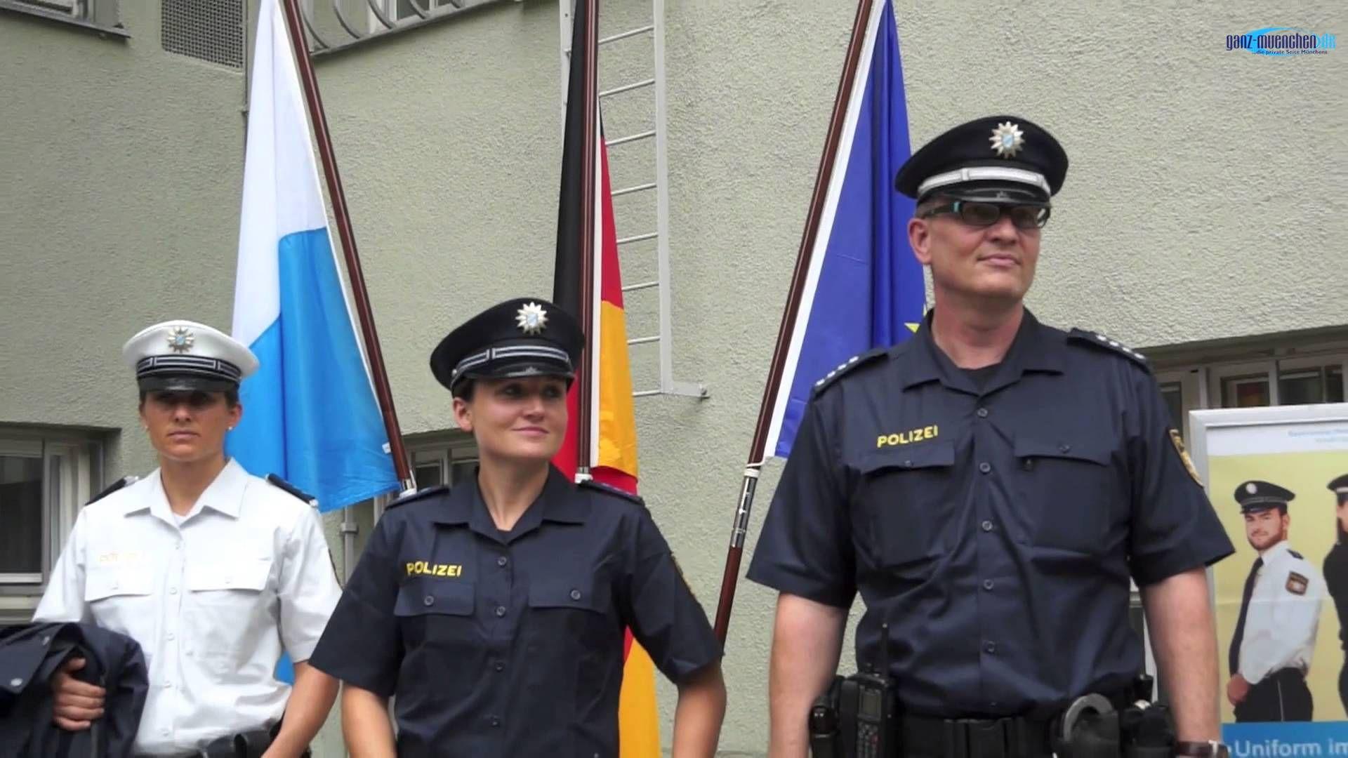 Neue Polizei-Uniformen in Bayern: Beginn des Trageversuchs am 01.08.2014