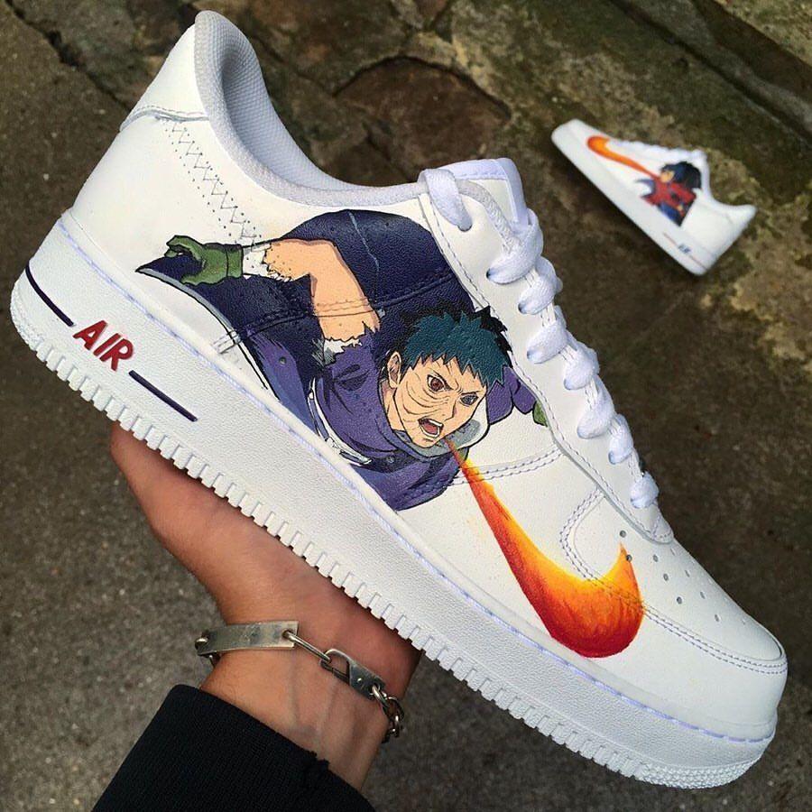 chaussures nike naruto