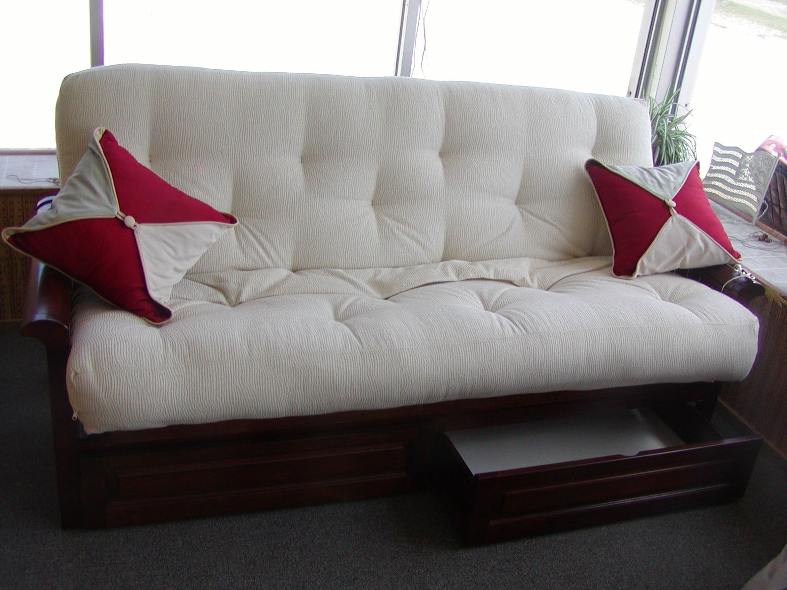chicago sofa bed modern wood set comfy futons not crappy home sweet
