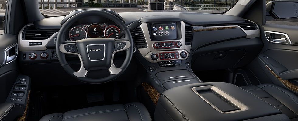 2015 Yukon Denali Interior Photos Full Size Luxury Suv Gmc