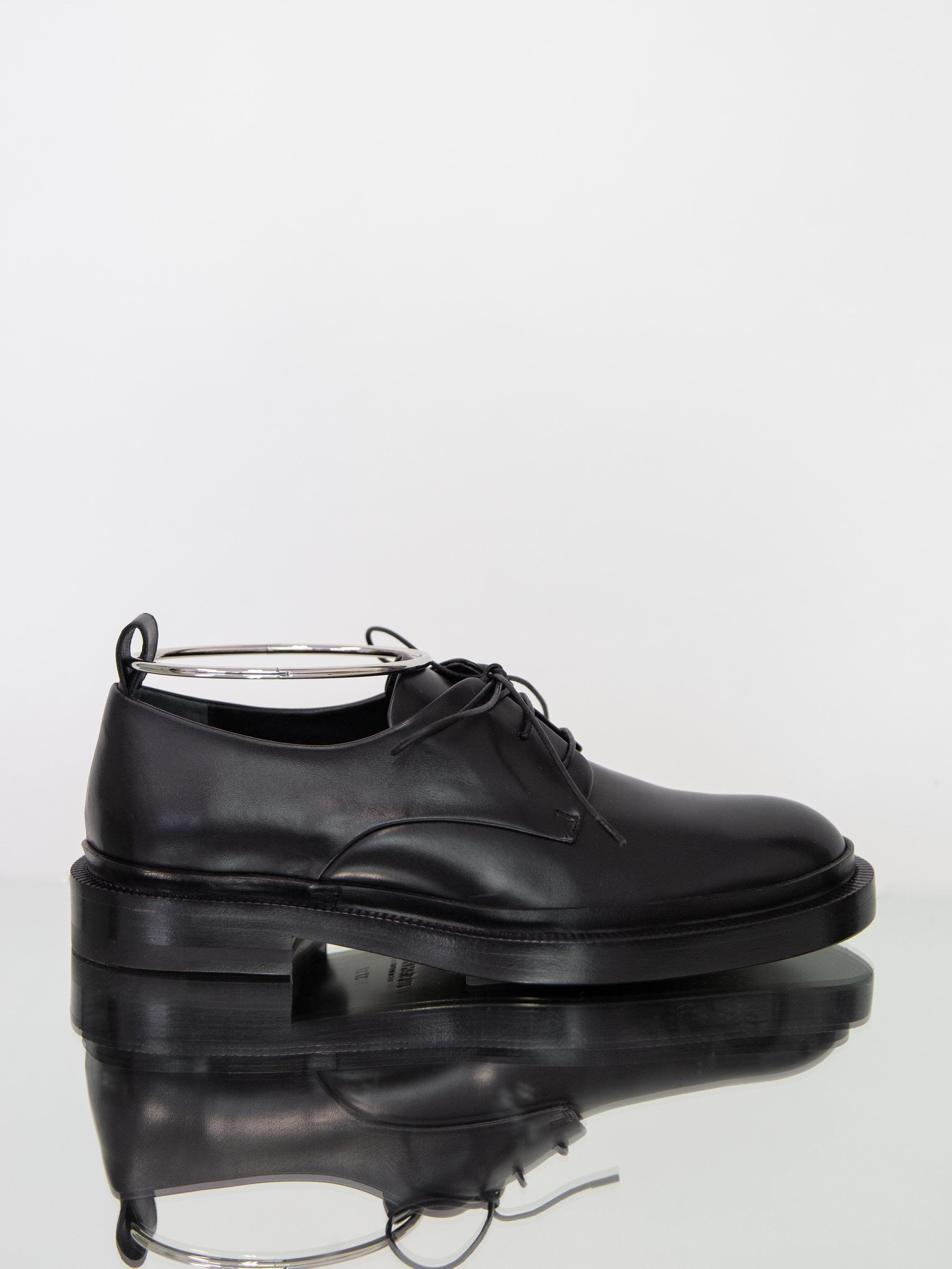 JIL SANDER Lace Up Derby Shoe with