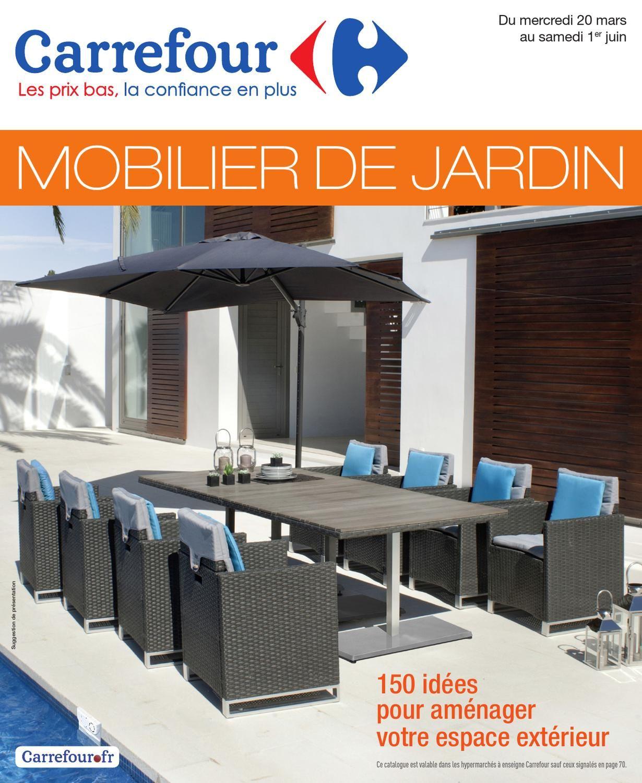 Fauteuil De Jardin Carrefour En 2020 Mobilier Jardin Salon De Jardin Design Mobilier Salon