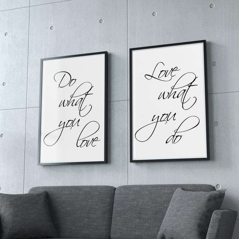 Office Wall Art Inspirational Wall Art Print Home Office Etsy Inspirational Wall Art Office Wall Art Custom Quote Canvas