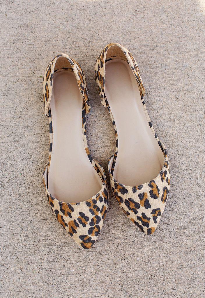 Leopard Flats | Pump shoes, Shoe boots