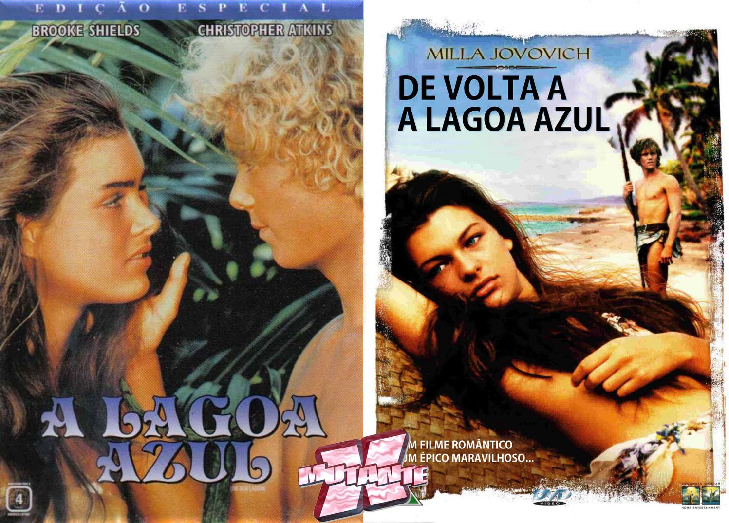 Resultado De Imagem Para Capa Do Filme A Lagoa Azul Com Imagens