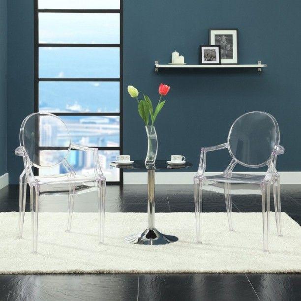 Philippe Stark Ghost Chairs