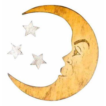 Check out this item at One Kings Lane! Moon & Stars Wall Decor