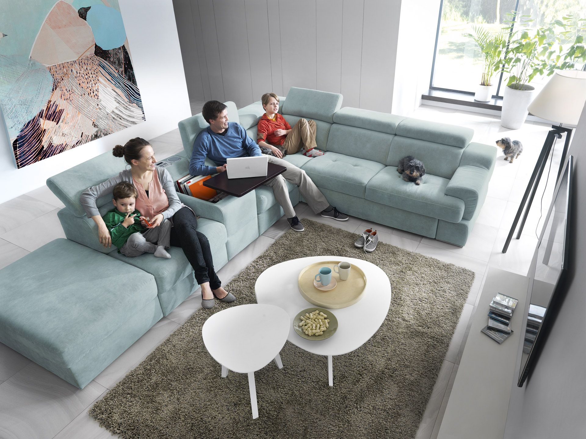 Meble systemowe i modułowe Belluno | Gala Collezione | Modern living room  set, Timeless furniture, Sectional couch