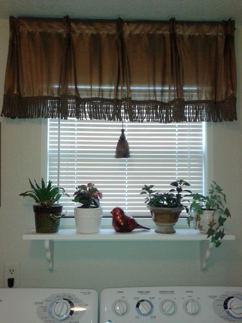 I Wanted To Extend My Window Sill For Plants And Found An Idea On Pinterest Pinned On My Board This Is How My Kitchen Window Sill Window Sill Window Decor