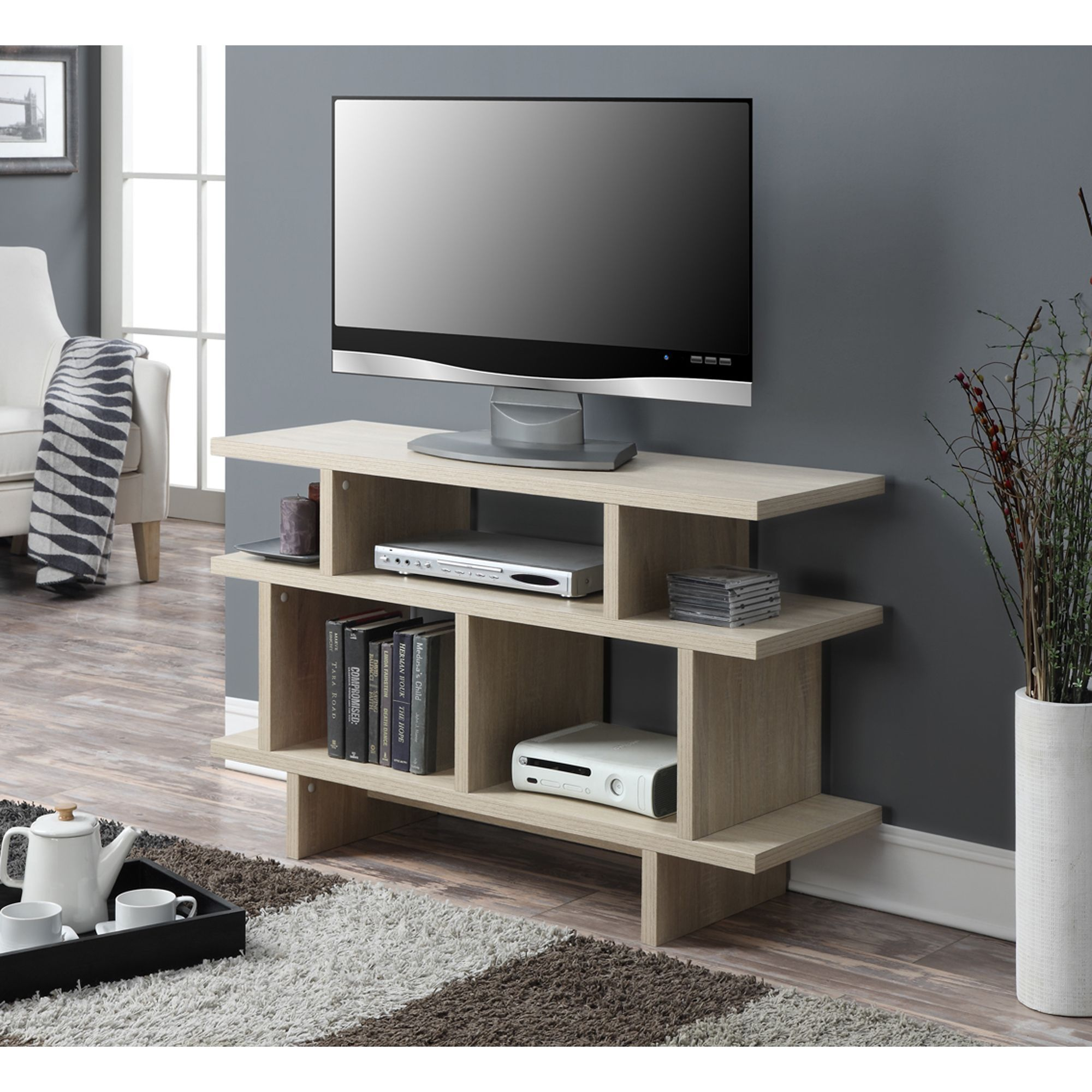 Display Your Television And Organize Your Media Center Using This