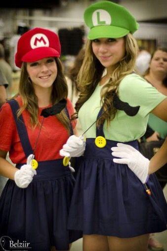 Cute costume vestidos Pinterest Costumes, Halloween costumes - halloween costume ideas for friends