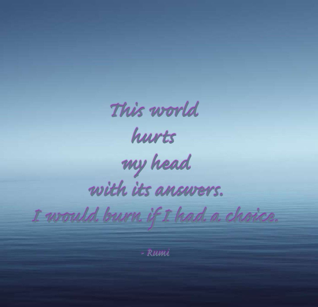 Soul talk #rumi #quotes #journey #life #spirituality #sufi ...