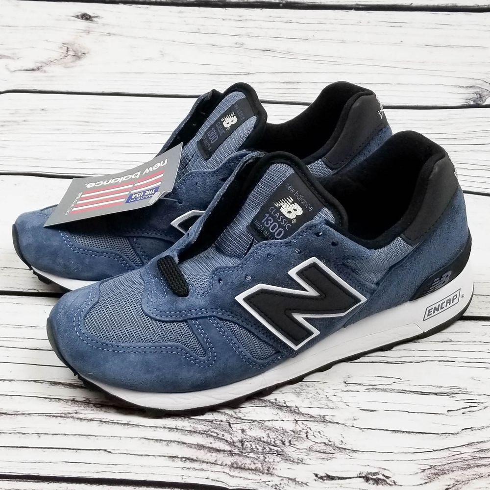 f8b59cfd4093 New Balance Classic 1300 Heritage M1300CHR USA Made Blue Black US 7.5 EUR  40.5  NewBalance  AthleticSneakers