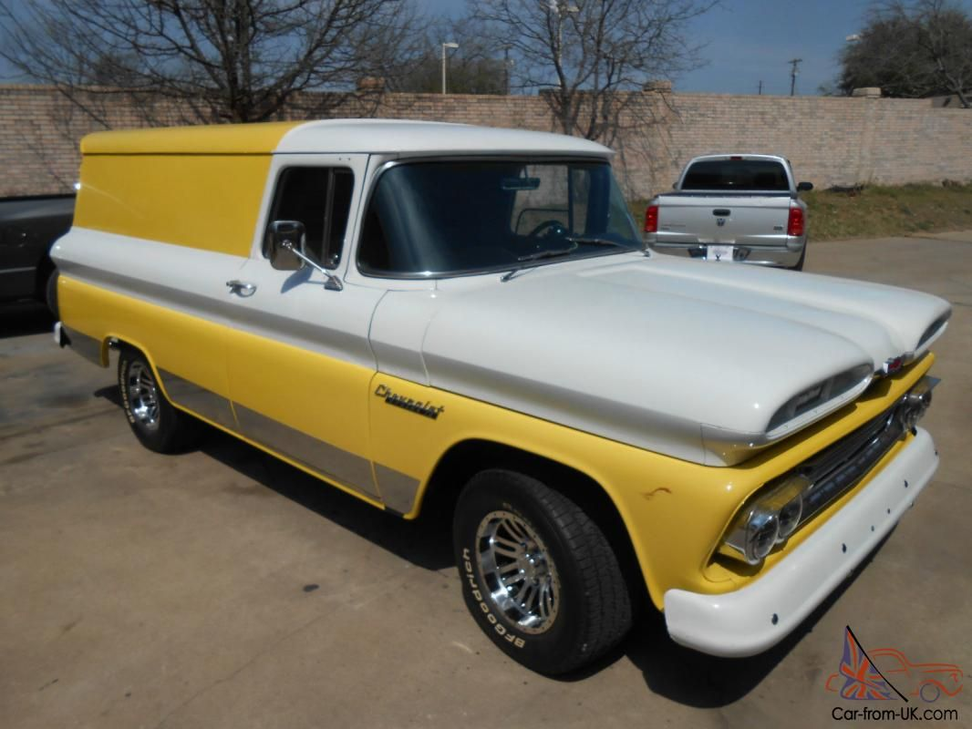 Truck chevy 1960 truck : 1960 Chevy Panel Truck - Truck Pictures