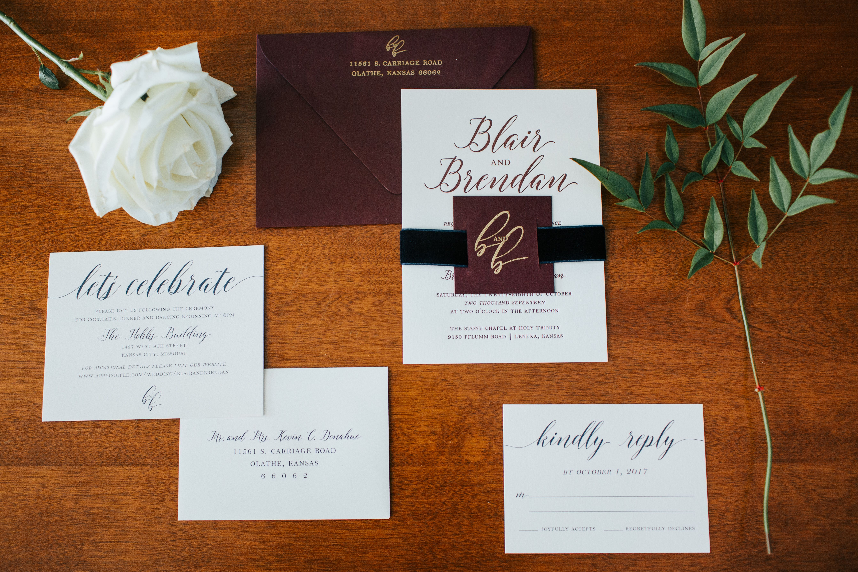 A Chic Fall Kansas City Wedding Blair Brendan Tie The Knot