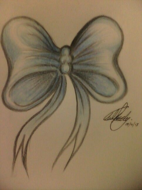 30+ Ribbon Tattoo Designs  |Bow Tattoo Sketches