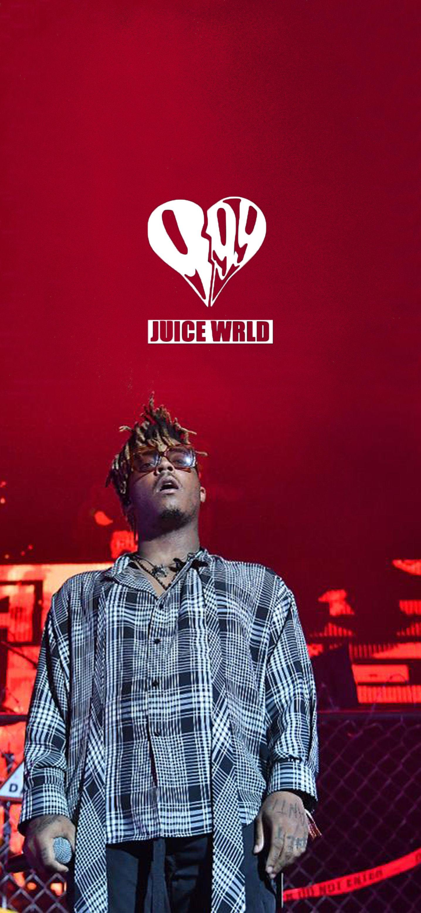 Juice Wrld Wallpaper Red Aesthetic Grunge Juice Rapper Rapper Wallpaper Iphone